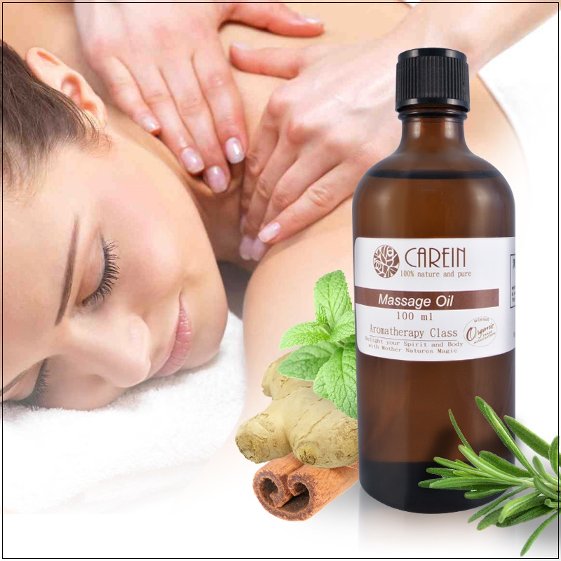 Ginger & Birch Meridian Activating Massage Oil 100ml